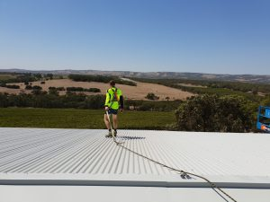 roof safety systems sa worker
