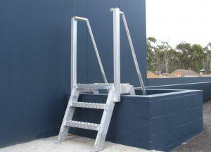 Roof Safety Ladder