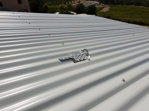Roof Anchor Installed on a roof