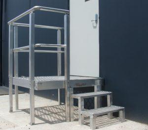 Roof Stepping Platform