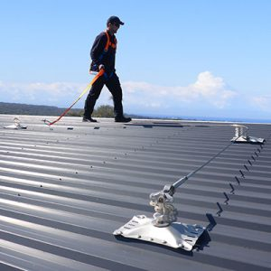 roof safety system equipment